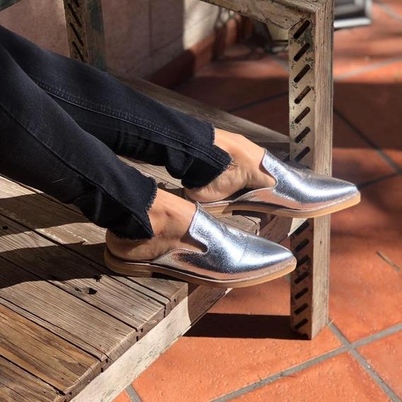 Zapato Sueco Brillante