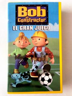 Bob El Constructor Vhs El Gran Juego Seminuevo Cassette