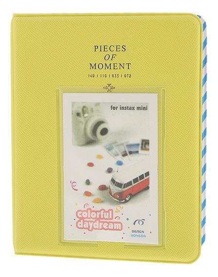 Livro Foto Álbum Detém 64 Fotos Para Fujifilm Instax Mini