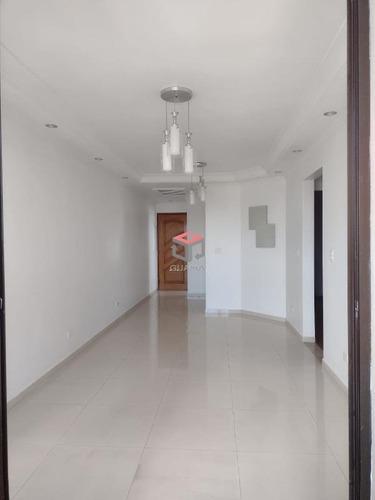 Imagem 1 de 21 de Apartamento À Venda, 3 Quartos, 1 Suíte, 2 Vagas, Assunção - Santo André/sp - 99532