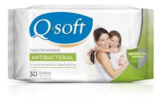 Toallitas Antibacteriales Q-soft (12 Paquetes)