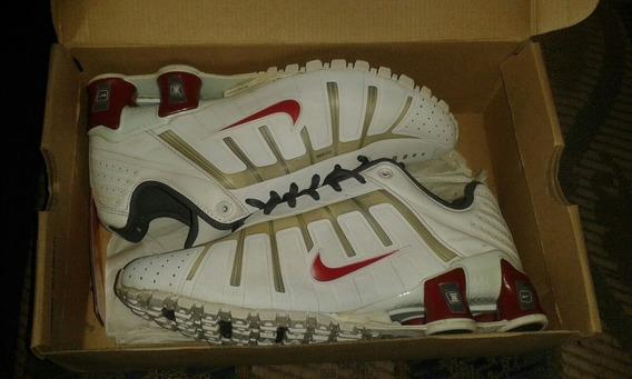 Tênnis Nike Shox O Leven Branco Usado