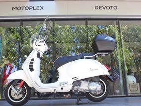 Vespa 300 Gts Sport Blanca Motoplex Devoto 0km