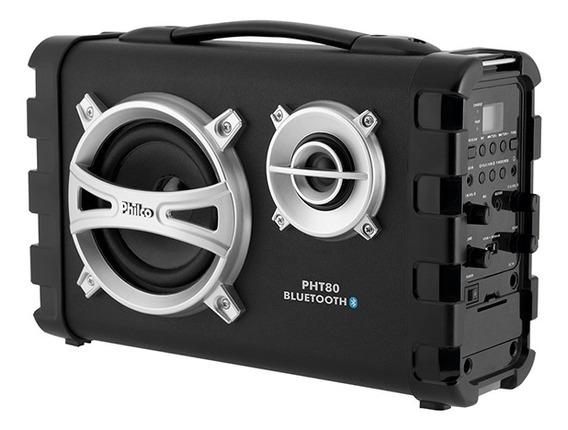 Caixa Acústica Philco Pht80 Com Conexão Bluetooth Bivolt