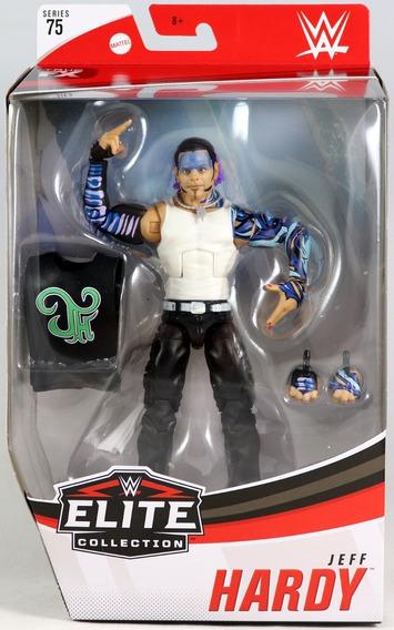 Wwe Elite Collection - Jeff Hardy - Figura De Accion Mattel
