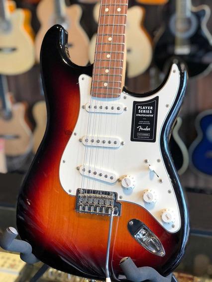 Guitarra Fender México Strato Sunburst Outlet 014-4503-500