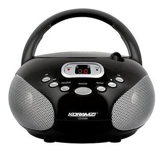 Koramzi Portatil Cd Boombox Sistema De Sonido Estereo Con Pa