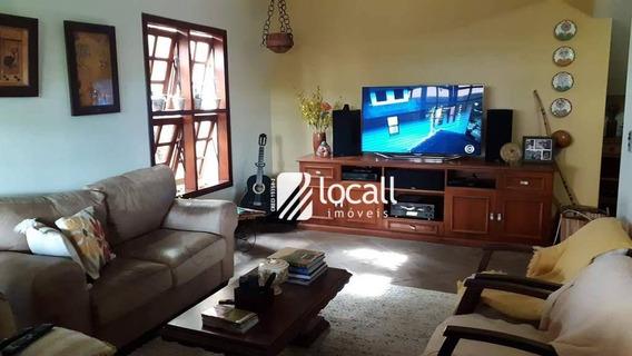 Casa Com 4 Dormitórios Para Alugar, 308 M² Por R$ 4.000/mês - Jardim Dos Seixas - São José Do Rio Preto/sp - Ca1892