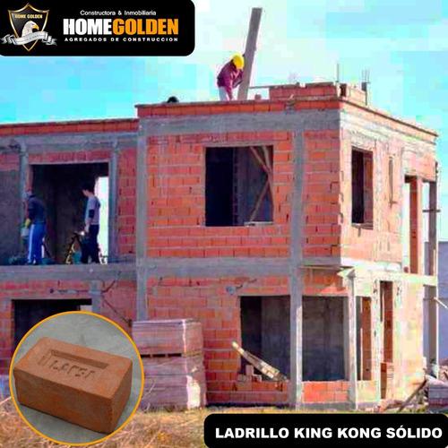 Imagen 1 de 1 de Ladrillo King Kong Para Muros Pandereta Techo