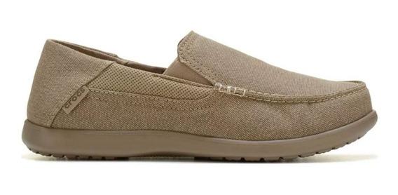 Zapatillas Crocs Nautico Santa Cruz 2 Luxe Khaki -khak 0140