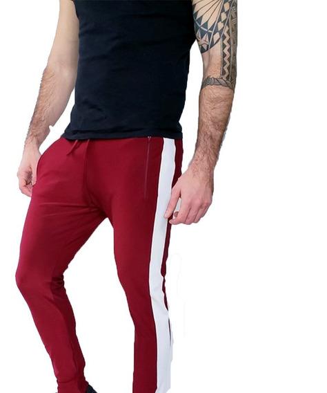 Pantalón Jogging Lycra Importada Hombre Deportivo Informal