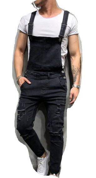 Jumpsuit Hombre Overol Jeans Skinny Meclilla Caballero