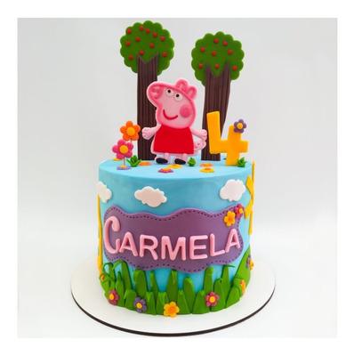 Torta Artesanal Con Diseño / Personalizada / Infantil