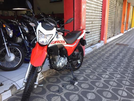Honda Nxr Bros160 Esdd Ano 2019 Vermelha