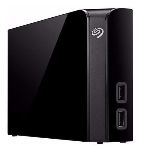 Disco rígido externo Seagate Backup Plus Hub STEL8000100 8TB preto