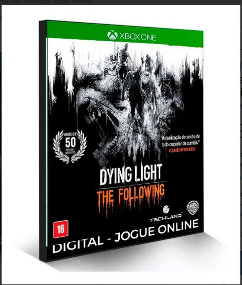 Dying Light: The Following X Box One Digital