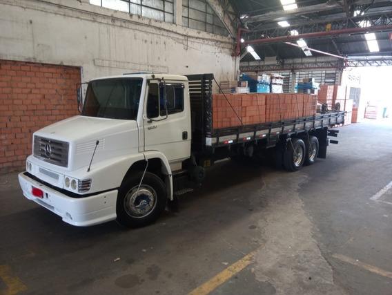 Mb 1620 Truck Carroceria De Madeira, Motor Novo!