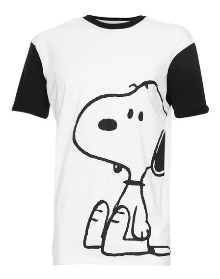 Playera De Hombre C&a Licencia Snoopy