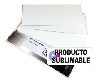Chapa Sublimable Fotografica Hd Chromaluxe 20x8,5cm 1,5mm