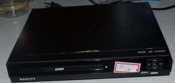 Dvd-player Navcity, Com Defeito - Leia O Corpo Do Anúncio