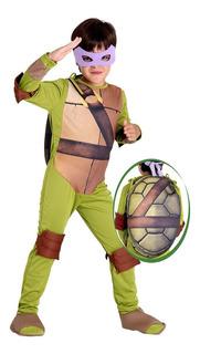 Fantasia Donatello Infantil - As Tartarugas Ninjas