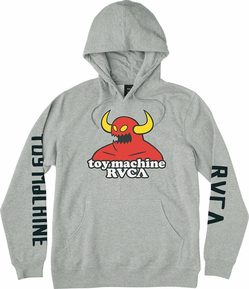 Sudadera Rvca X Toy Machine, Mod. Hoodie, Color Ath.