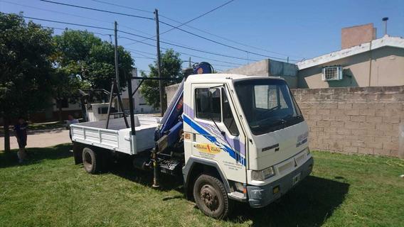 Camion Deutz Agrale Hidro Grua Italiana Pm8 Tnm Impecables