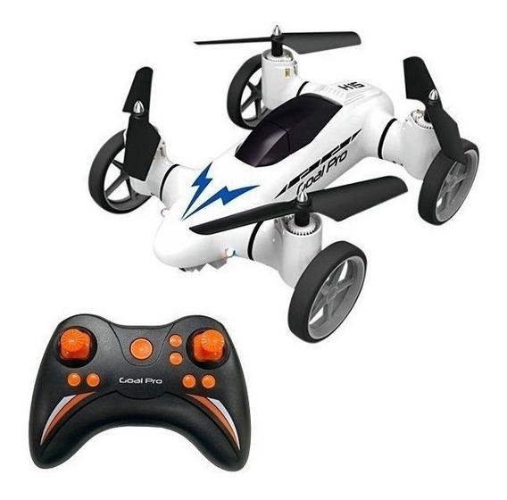 Drone Carro Goal Pro Skyroad H15 - Terrestre E Aéreo Novo