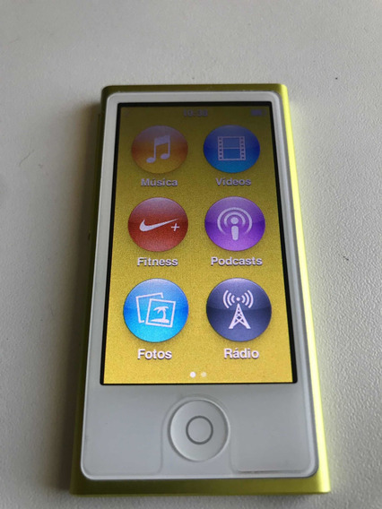 Novo iPod Apple Nano 16gb (impecável)