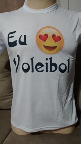 Camiseta Voleibol Emoji