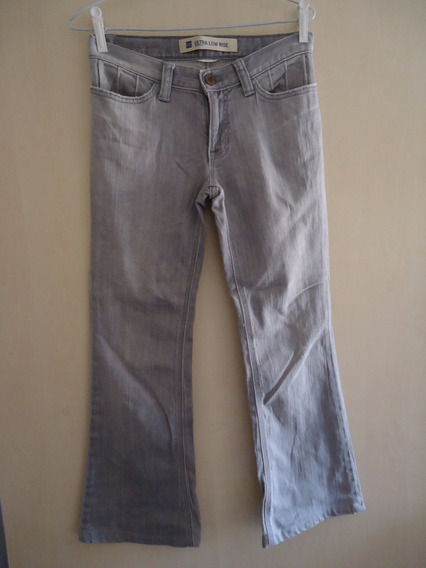 Calça Jeans Feminina Gap Cinza Seminova
