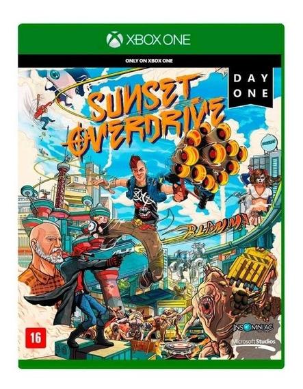 Sunset Overdrive Xbox One Em Português Mídia Física