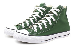 Tênis Converse All Star Verde Cano Alto Ct04190029