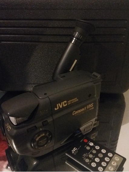 Filmadora Jvc Videomaker Gr-ax606 C/ Case E Carregador