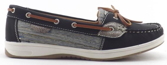 Zapatos Lady Stork Combinados Mujer Comodos Eliana Promo