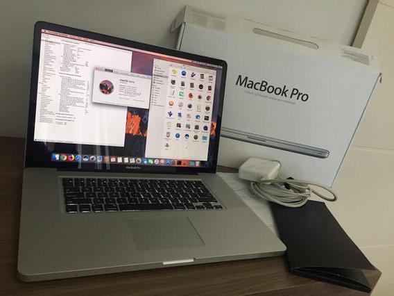 Macbook Pro 17 Polegadas Com Processador Intel-i7 16gb Hd750