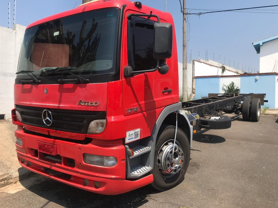 Mb Atego 1718 - 2008 - 4x2 - Chassi - Puxou Só Leve