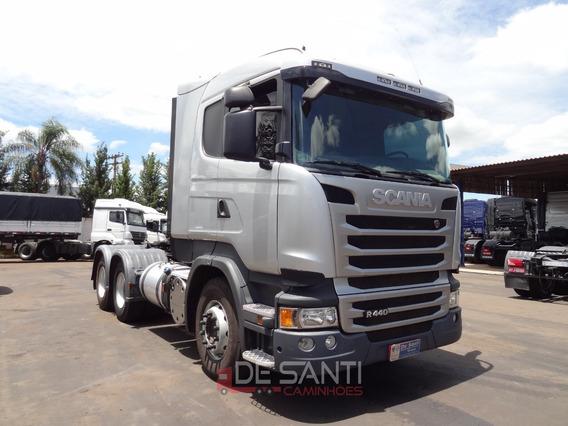 Scania R 440 A 6x4 Ano 2017/18 Bug Leve De Santi Caminhões
