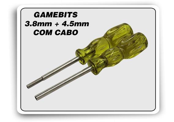 Kit Chaves Gamebit 3.8mm + 4.5mm Com Cabo Mega Snes N64