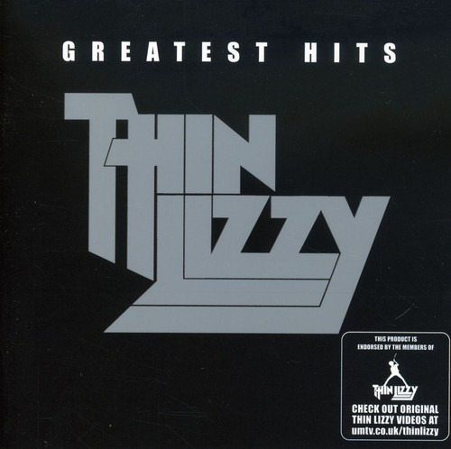 Thin Lizzy Greatest Hits Cd Uk Import