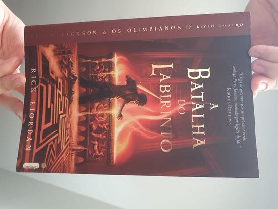 Percy Jackson E Os Olimpianos Livro 4:a Batalha Do Labirinto