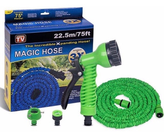 Manguera Expandible Magic Hose 22.5 Metros 3x Con Pistola