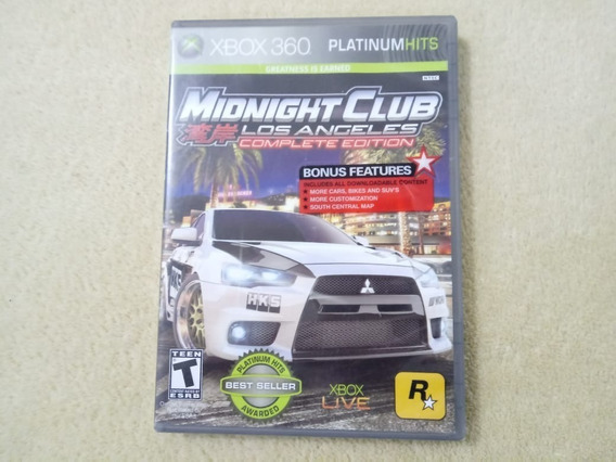 Jogo Midnight Club: Lo Los Angeles Complete Edition Xbox 360