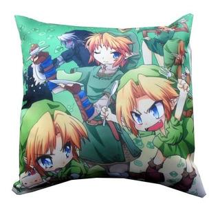 Almohadón De Anime - Legend Of Zelda Link Nintendo