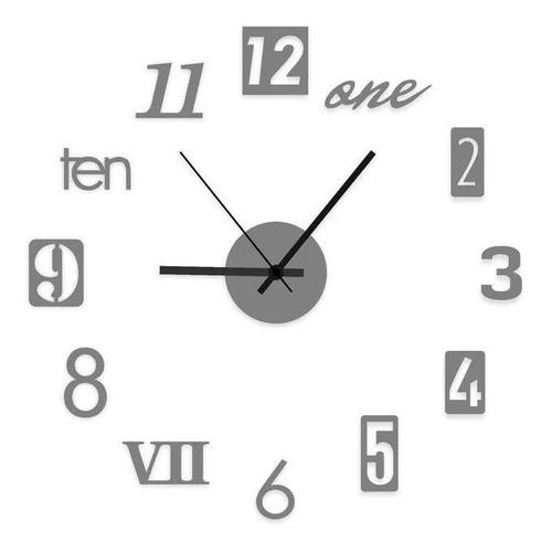 Reloj De Pared   Estilo Europeo 3d