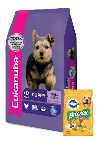 Imagen 1 de 5 de Eukanuba Cachorro Puppy Raza Chica 3k+ Promo Ver Foto+ Envío