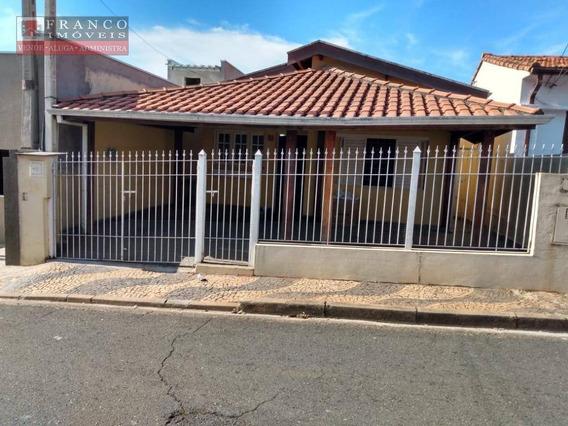 Casa Com 3 Dormitórios Para Alugar, 130 M² Por R$ 3.000/mês - Castelo - Valinhos/sp - Ca0563