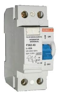 Interruptor Diferencial Disyuntor Thomelec 40a