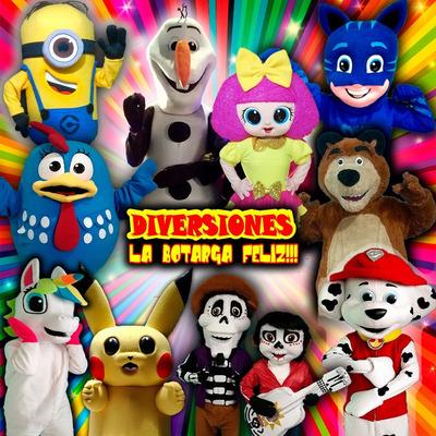 Renta De Botargas Y Shows Infantiles Nezahualcoyotl Y Cdmx