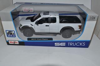 Miniatura 2017 Ford Raptor 1:24 Maisto Se Trucks